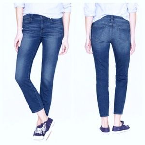J. Crew High Rise Reid Cropped Jeans 8413
